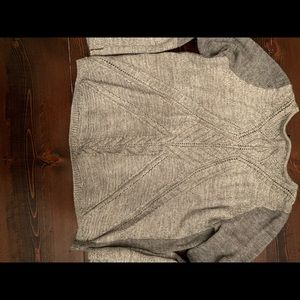 The limited outbacked sweater